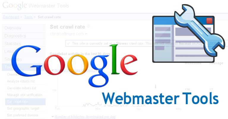 Add website on google webmaster tool