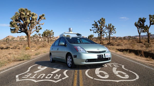 All about Google driverless car