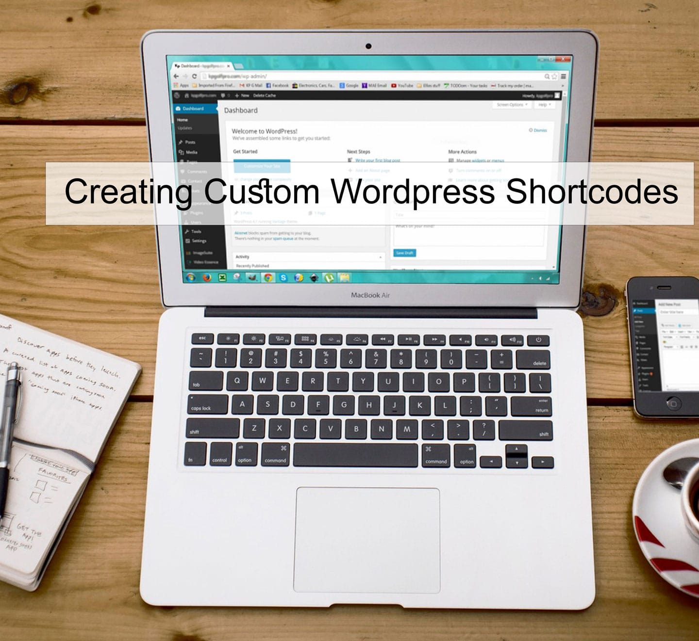 Creating & using custom shortcode in WordPress