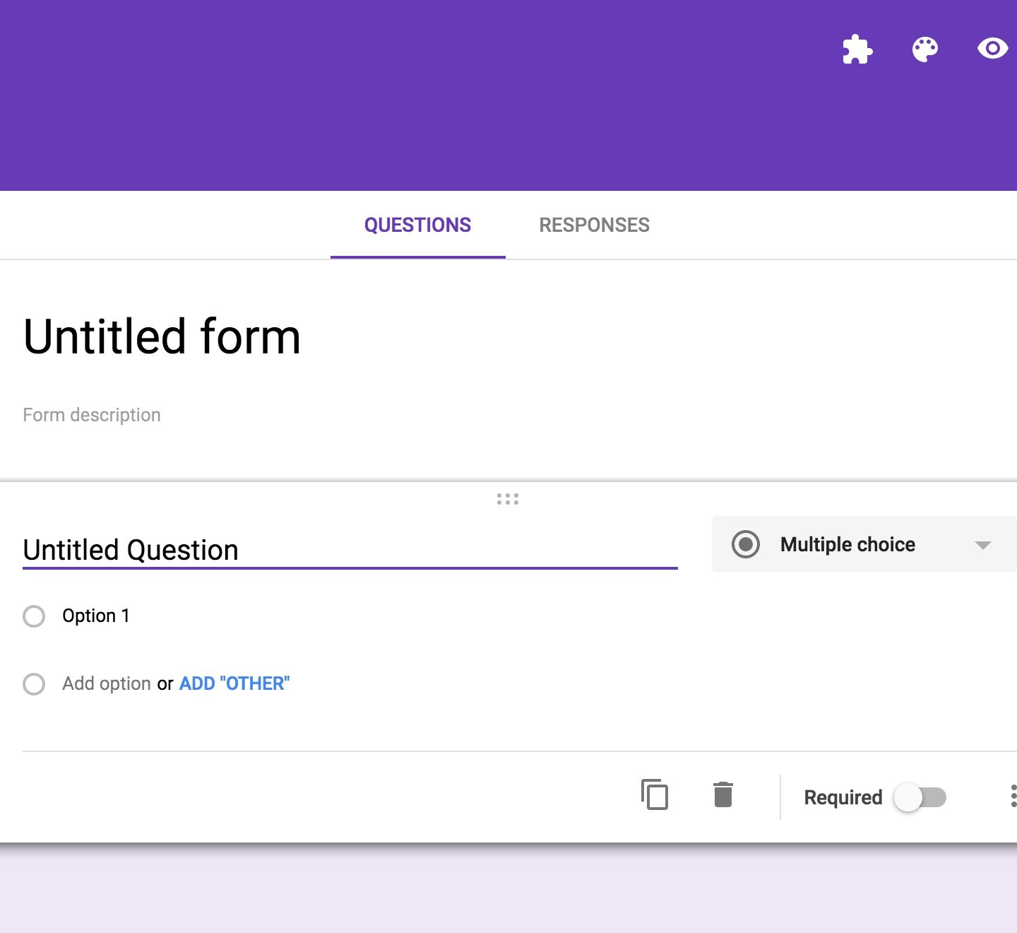 How to create Feedback form on Google Forms